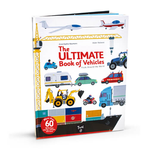 The ULTIMATE Book of Vehicles クロニクルブックス